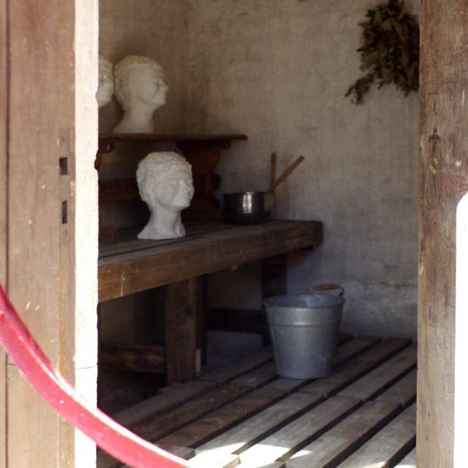Museum's Sauna